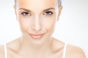 Woman with Clear Skin   Dr. Lisa Buin Private Label skin Care   Allentown PA
