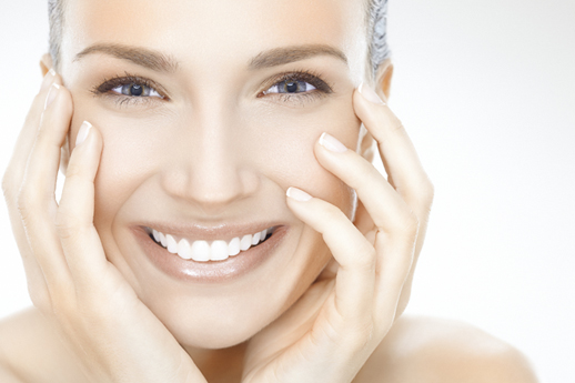 Smiling Woman with Clear Face | Microdermabrasion | Dr. List Bunin | Allentown PA