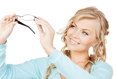 Acuity Optical | Woman with Glasses | Dr. Lisa Bunin | Allentown PA