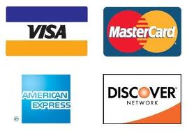 image of accepted credit cards
