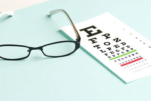 Eye Chart and Glasses | Dr. Lisa Bunin | Allentown PA