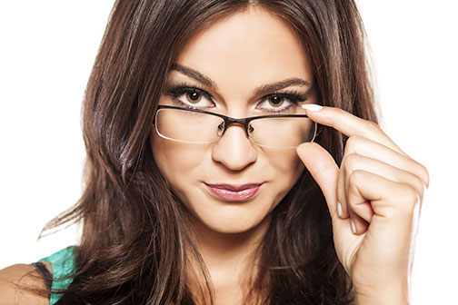 Glasses | Woman with Glasses | Dr. Lisa Bunin | Allentown PA