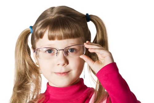 Glasses | Young Girl with Glasses | Dr. Lisa Bunin | Allentown PA