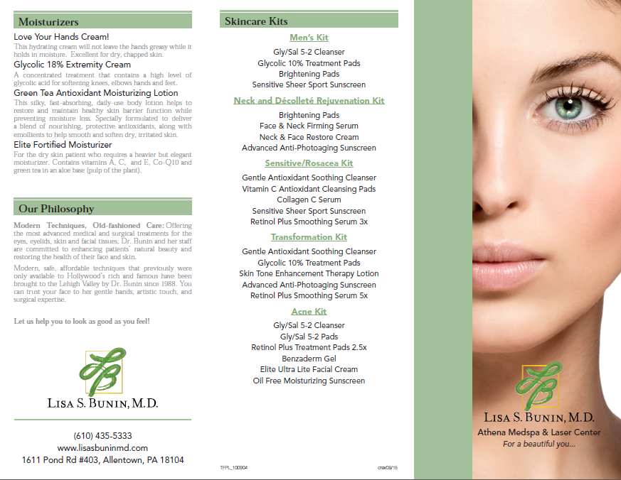 Private Label Menu Of Products Lisa Bunin Md